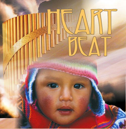 HEART BEAT - PŁYTA CD INSTRUMENTAL FLETNIA PANA Z PERU